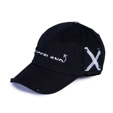 [BLACKBLOND] BBD CRAZY ANGELESS CAP (BLACK)