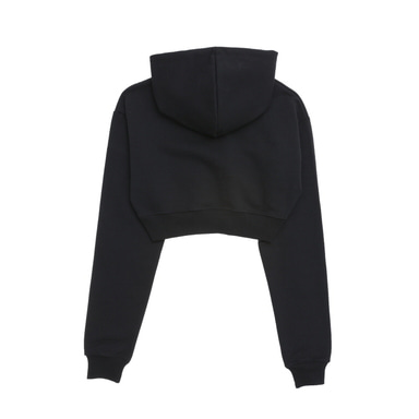 [BLACKBLOND] BBD BASIC CROP HOODIE (BLACK)