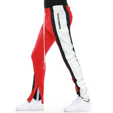 [EPTM] COLOR BLOCK TRACK PANTS 5.0 (RED/BLACK/WHITE)
